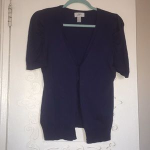 Blueberry blue cardi